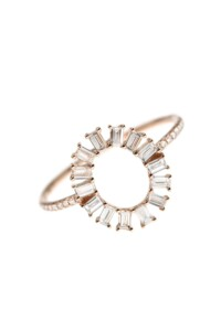 OVAL Ring DIAMANT
