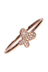 PAPILLON Diamant Ring Roségold