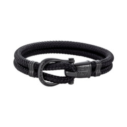 Paul Hewitt Herrenarmband Phinity Nylon PH-SH-N-B-B-XL
