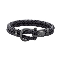 Paul Hewitt Herrenarmband Phinity Nylon PH-SH-N-GM-BG-XL