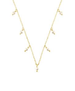PEARL Halskette|10K Gold