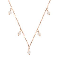 PEARL Halskette|10K Roségold