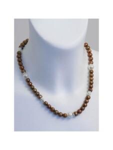 Perle Halskette 1001 Diamonds bunt