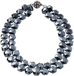 Perlencollier 'Seductive Blue', Collier, Schmuck