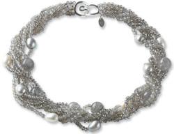 Perlencollier 'Silver Queen', Collier, Schmuck
