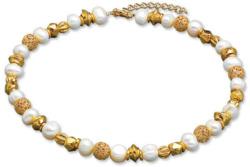 Petra Waszak: Collier 'Perlen der Renaissance', Collier, Schmuck