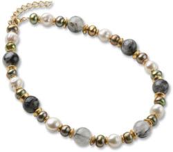 Petra Waszak: Collier 'Perlen des Jugendstils', Collier, Schmuck