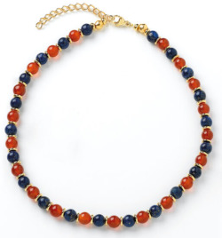 Petra Waszak: Collier 'Perlen des Nils', Collier, Schmuck