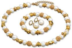 Petra Waszak: Schmuckset 'Perlen der Renaissance', Schmuckset