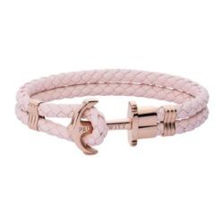 Phrep Armband aus Leder in Pink Rose