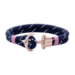 Phrep Damen Armband aus Nylon, dunkelblau