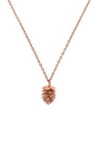 PINE Halskette rosé vergoldet