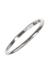 PLAIN Edelstahl Ring