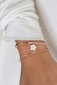 PRIMROSE Armband rosé vergoldet