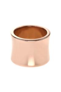 PURE Edelstahl Ring rosé vergoldet