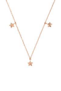 RADIANT STARS Halskette rosé vergoldet
