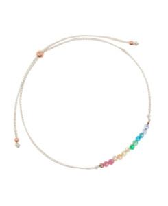 RAINBOW GEMS|Armband Silber