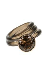 RAUCHQUARZ Ring
