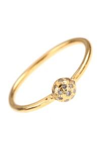 REGINE Diamant Ring vergoldet