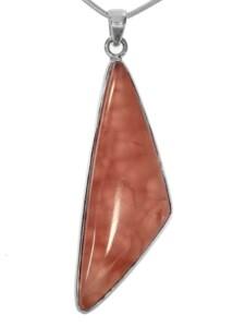 Rhodochrosit Anhänger 925 Silber rosa 1001 Diamonds rosa
