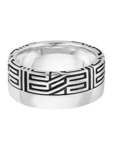 Ring 925/- Sterling Silber Glänzend CAI weiß