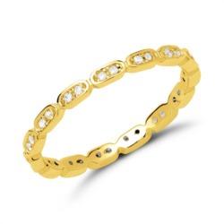 Ring 925er Silber vergoldet rhodiniert Zirkonia