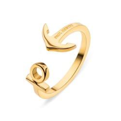 Ring Ancuff für Damen aus vergoldetem Edelstahl