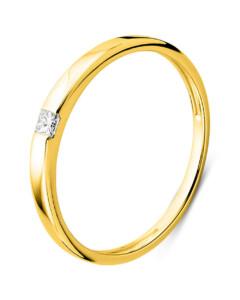 Ring aus 375 Gold mit 0.06 Karat Diamant-52