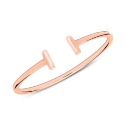 Ring aus rosévergoldetem Sterlingsilber