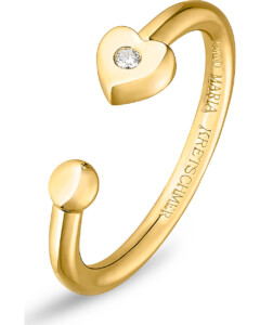 Ring aus Sterling Silber mit Diamant