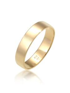 Ring Bandring Trauring Basic Hochzeit Paar 585 Gelbgold Elli Premium Gold