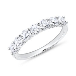 Ring für Damen aus Sterlingsilber Zirkonia, gravierbar