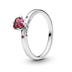 Ring Funkelndes Herz für Damen aus 925er Silber