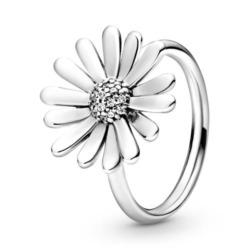 Ring Gänseblümchen aus 925er Silber mit Zirkonia