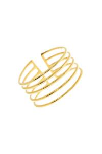 Ring gelb vergoldet