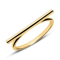 Ring im Bar Design aus 9K Gold