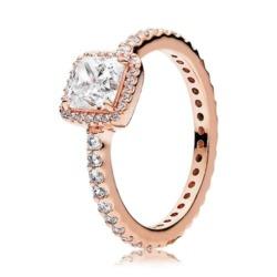 Ring ROSE Zirkonia