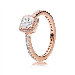 Ring ROSE Zirkonia