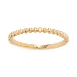 Ring Rosina für Damen aus vergoldetem Edelstahl