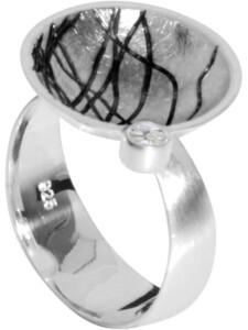 Ring Sarah Vicenza Silber 925/000 Zirkonia OSTSEE-SCHMUCK silber