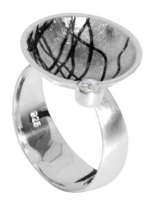 Ring – Sarah Vicenza – Silber 925/000 – Zirkonia OSTSEE-SCHMUCK silber
