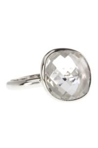 Ring Sterling Silber Bergkristall