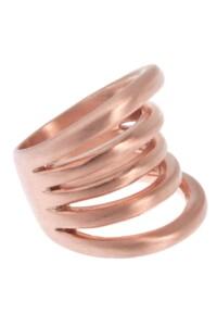 Ring Sterling Silber rosé vergoldet