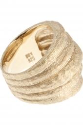 Ring Sterling Silber vergoldet