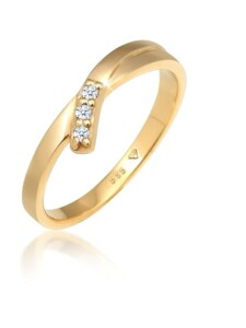 Ring Verlobungsring Diamant (0.06 Ct.) 585 Gelbgold DIAMORE Gold