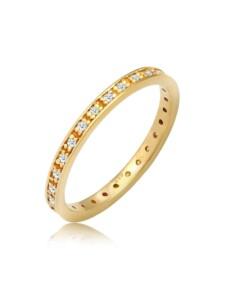Ring Verlobungsring Diamant (0.14 Ct) 585 Gelbgold DIAMORE Gold
