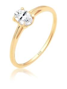 Ring Verlobungsring Valentin Liebe Topas 585 Gelbgold Elli Premium Gold