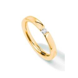 Ring von Palido mit einem 0,075 ct Brillant in Memoirering-Optik