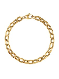 Roloarmband AMY VERMONT Gelbgoldfarben