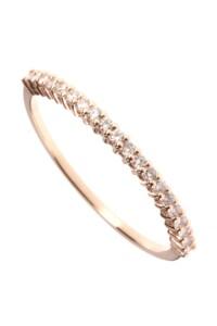 Roségold Ring Diamanten